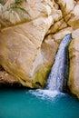 Oasis waterfall Royalty Free Stock Photo