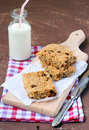Oat bars Stock Images