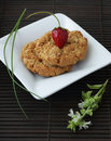 Oat cookies Royalty Free Stock Photos