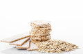 Oat dietary products Royalty Free Stock Photography