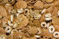 Oat and wheat Cereal Royalty Free Stock Photo