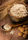 Oatmeal and cookies Royalty Free Stock Photos
