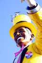 Obama bin laden viareggio carnival Stock Photography
