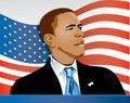Obama Flag Two