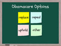 Obamacare options Royalty Free Stock Photo