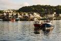 Oban Harbour, Oban, Argyle, Scotland. 28th August 2015 Royalty Free Stock Photo