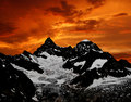 Ober Gabelhorn - Swiss Royalty Free Stock Photography