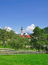 Oberau,Tyrol Royalty Free Stock Images