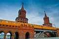 Oberbaum Bridge Royalty Free Stock Photography