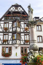 Obernai (Alsace) - House Royalty Free Stock Photos