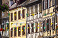 Obernai (Alsace) - Houses Stock Photography