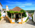 Obidos village Portugal Royalty Free Stock Photography