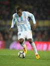 Obinna of Malaga CF Stock Images