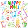 Object For Holi Festival