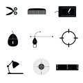 Object Icon Black Vector