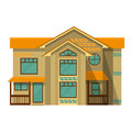 Object Isolated Cottage Flat D...