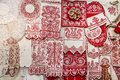 Objects of Russian folk art and crafts, embroidery, Arkhangelsk oblast