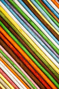Oblique stripes background. Wooden sticks colored. Royalty Free Stock Photo