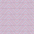 Oblique stripes shift seamless pattern candy tone Stock Photography