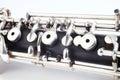 Oboe - instrumentos musicales Fotos de archivo libres de regalías