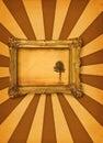 Obraz drzewo Zdjęcie Stock