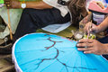 Obraz parasol Zdjęcia Royalty Free