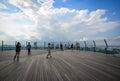 Observation Deck of Sands SkyPark in Singapore