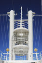 Observation tower in a cruise ship Stock Photos