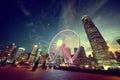 Observation Wheel, Hong Kong Royalty Free Stock Photo