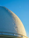 Observatory dome of lick at sunset mt hamilton san jose california usa Stock Photography