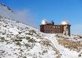 Observatory in High Tatras Skalnate pleso