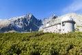 Observatory Lomnicky Peak, High Tatras, Slovakia