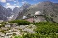 Observatory Lomnicky Peak, High Tatras