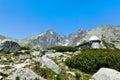 Observatory at Skalnate pleso, Lomnicky stit, High Tatras in Slovakia