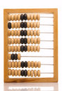 Obsolete wooden abacus Royalty Free Stock Images