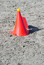 Obstacle cone Stock Photo