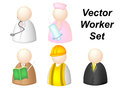 Occupation vector group of cartoon Stock Photos
