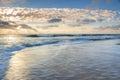Ocean and Beach Landscape North Carolina Royalty Free Stock Photo