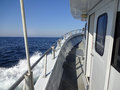 Ocean City Maryland Headboat Under Way Royalty Free Stock Photo