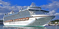 Ocean cruise liner Royalty Free Stock Photo