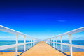 Ocean dock Royalty Free Stock Photo