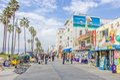 Ocean front walk,Venice Beach Royalty Free Stock Photo