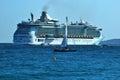 Ocean liner Royalty Free Stock Photo