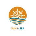 Ocean logo design