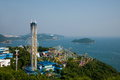 Ocean park ocean park tower overlooking the ocean on earth recreation area hong kong Stock Photography