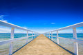 Ocean Pier Royalty Free Stock Photo