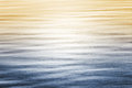 Ocean Reflections with Gradient Royalty Free Stock Photo