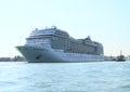 Ocean ship MSC Magnifica