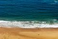 Ocean shore in portugal atlantic Stock Photos