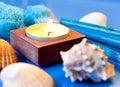 Ocean spa still life Royalty Free Stock Photo